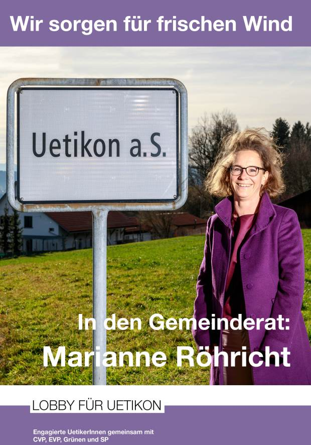 F4-Plakat Marianne